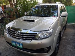 Toyota Fortuner 2013 for sale in Makati