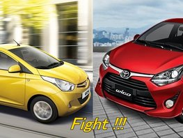 Toyota Wigo vs Hyundai Eon Comparo: Cheap and Cheerful Indeed