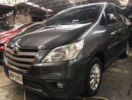 Gray Toyota Innova 2016 for sale in Quezon City