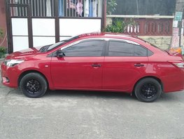 Selling Red Toyota Vios 2017 at 16000 km in Caloocan