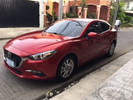 Red 2018 Mazda 3 at 8000 km for sale