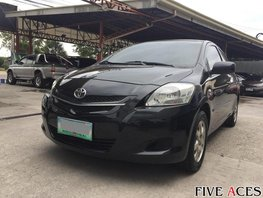 Black 2008 Toyota Vios at 80000 km for sale