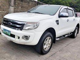 White 2014 Ford Ranger at 45000 km for sale
