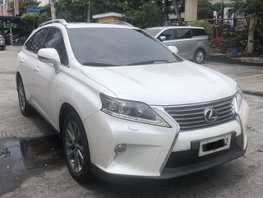 White 2014 Lexus Rx 350 at 20000 km for sale in Pasig