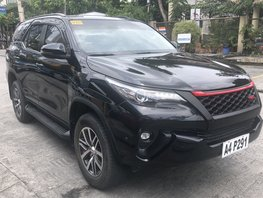 Black 2018 Toyota Fortuner Automatic Diesel for sale