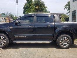 Black Ford Ranger 2016 for sale in Tacloban