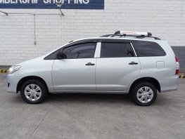 Silver 2015 Toyota Innova Automatic Diesel for sale