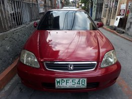 Selling Red Honda Civic 2000 Automatic in Manila