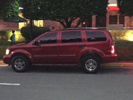 Red Dodge Durango 2007 Automatic Gasoline for sale
