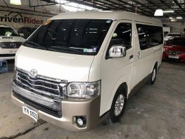 Sell White 2016 Toyota Hiace Automatic Diesel at 33000 km