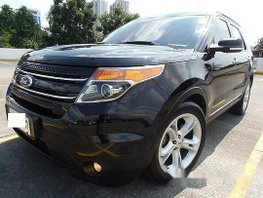 Black Ford Explorer 2014 at 26000 km for sale