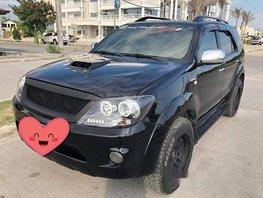 Black Toyota Fortuner 2007 at 130000 km for sale