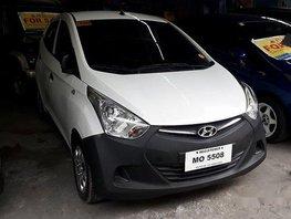 White Hyundai Eon 2015 Manual Gasoline for sale in Antipolo