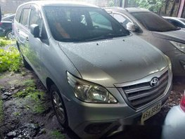 Silver Toyota Innova 2015 at 72000 km for sale