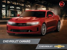 Sell Red 2019 Chevrolet Camaro Automatic in Las Pinas