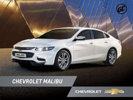 White Chevrolet Malibu 2019 Sedan for sale