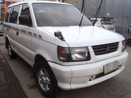 White 2003 Mitsubishi Adventure Manual Diesel for sale