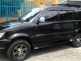Black 2014 Isuzu Sportivo Manual Diesel for sale