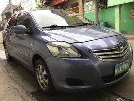 Blue Toyota Vios 2012 at 68000 km for sale