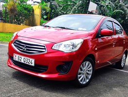Sell Red 2018 Mitsubishi Mirage G4 Sedan at 2000 km in Quezon City