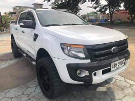 White Ford Ranger 2015 Manual Diesel for sale