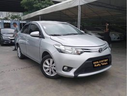 Silver 2015 Toyota Vios Automatic for sale