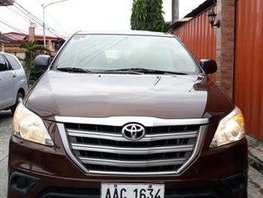 Brown Toyota Innova 2015 at 42000 km for sale