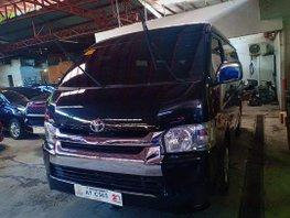 Black Toyota Hiace 2018 for sale