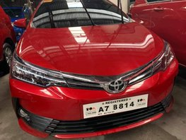 Selling Red Toyota Corolla Altis 2018 at 3800 km in Quezon City
