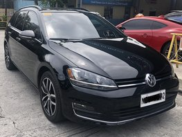 Black 2018 Volkswagen Golf at 8000 km for sale in Pasig