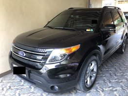 Black Ford Explorer 2014 at 60000 km for sale