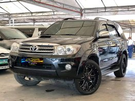 Black 2009 Toyota Fortuner for sale in Quezon City