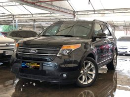 Black 2014 Ford Explorer at 49000 km for sale