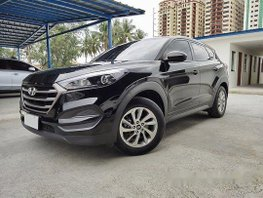 Black Hyundai Tucson 2016 at 41000 km for sale