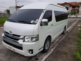Sell White 2018 Toyota Hiace at 21000 km