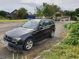 Selling Black Bmw X3 2008 Automatic Diesel in Metro Manila