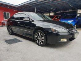 Black Honda Accord 2005 Automatic Gasoline for sale