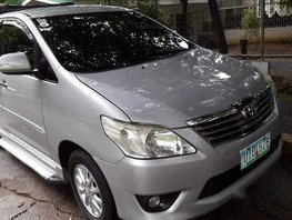 Selling Silver Toyota Innova 2012 in Pasig