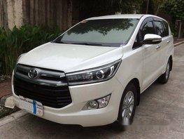 White Toyota Innova 2016 for sale in Quezon City