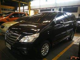 Black Toyota Innova 2015 for sale in Quezon City