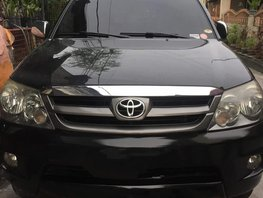 Selling Black Toyota Fortuner 2007 Automatic Gasoline