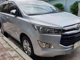 Silver Toyota Innova 2016 at 12000 km for sale
