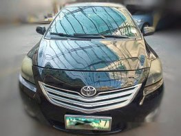 Black Toyota Vios 2013 at 70000 km for sale