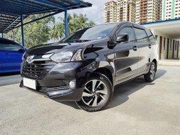 Black Toyota Avanza 2017 Automatic Gasoline for sale
