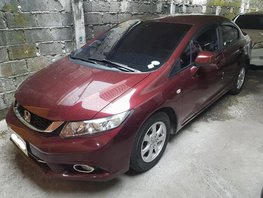 Selling Red 2015 Honda Civic 1.8 Automatic in Makati