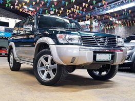 Sell Green 2002 Nissan Patrol Diesel Automatic in Quezon City