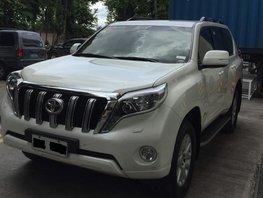 Selling Used 2016 Toyota Land Cruiser Prado in Manila
