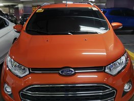 Orange 2016 Ford Ecosport at 11500 km for sale
