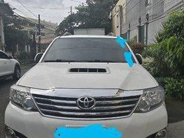 Sell White 2014 Toyota Fortuner Automatic Diesel at 89000 km