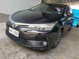 Sell Black 2017 Toyota Corolla Altis Automatic Gasoline at 14000 km